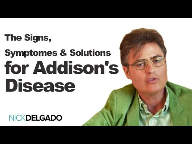 The Signs, Symptos & Solutions for Addison's Disease with Dr. Thierry Hertoghe