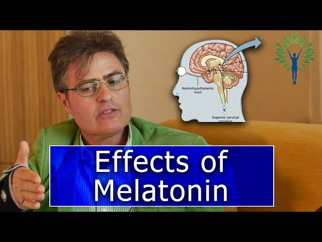 Dr. Thierry Hertoghe and Dr. Nick Delgado speak briefly on the effects of Melatonin