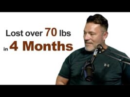 Fat reduction 70 lbs weight loss in 4 months by Coaching Geoff Harman Ray Wilson Family Fitness