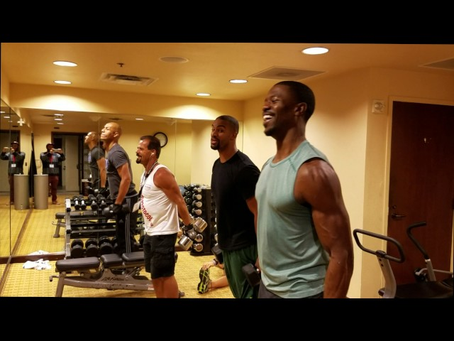 NFL Pro Athlete schooled by Dr. Nick Workout Lift Challenge