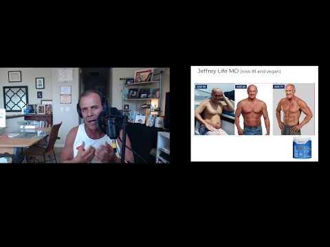 Grow Muscle Burn Fat, 4 steps to Longevity, ripped abs of 81 yr, Best Plant Protein recipes Dr Nick