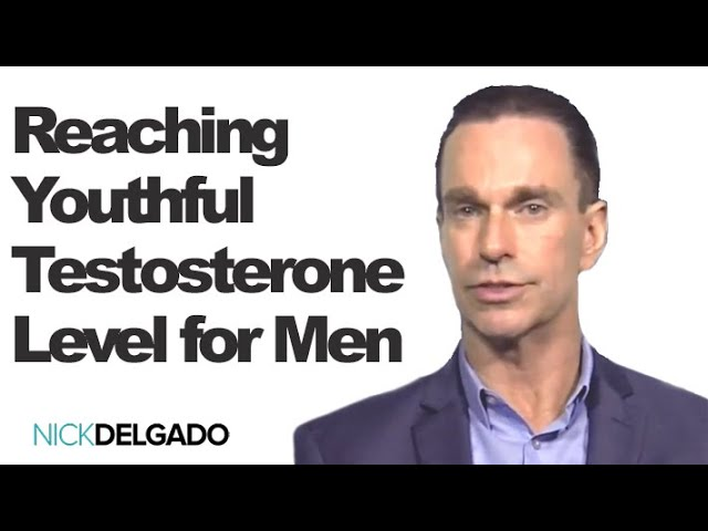 How to reach youthful testosterone levels for men over 57 years old with natural herbs, and fitness