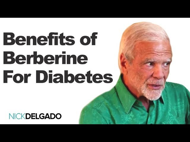 Dr. Johnathan Wright Discusses The Benefits of Berberine For Diabetes