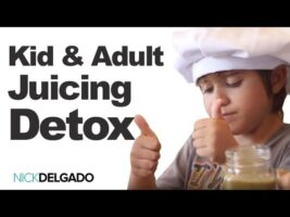 Kid Friendly Juicing As A Base to a Smoothie, The Perfect Health Drink- Chef Roman