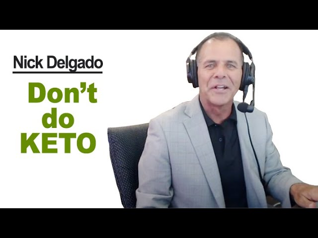 """Dr. Nick Delgado's reply to """"'No One Should Be Doing Keto Diet!' (part 1)"""