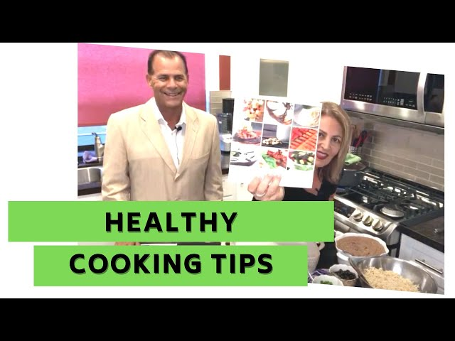 EASY & FAST Healthy Cooking  Recipes with Shayda and Dr.  Nick Delgado