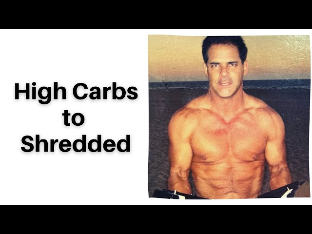 Ripped Abs with 80% whole food Carbs and 3% Protein Proven by metabolic Studies