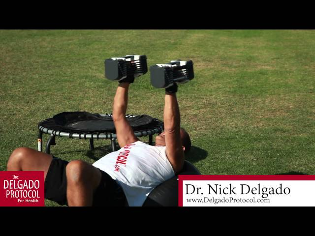 Effective Chest Workout to reach failure for rapid results with Dr. Nick Delgado