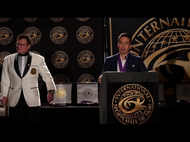 Amazing Apolo Ohno, 8 time medalist speed skating. Honored Arnold Hall of Fame