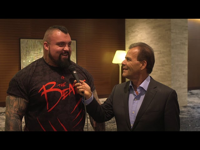 Keto or Vegan? Arnold Classic Eddie Hall worlds strongest man with abs!