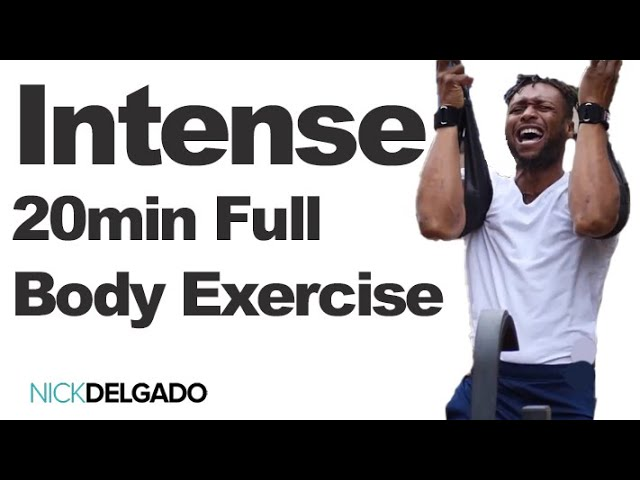 Build powerfully strong muscles, ripped abs, lean body in 20 min? Intense workout of the entire body