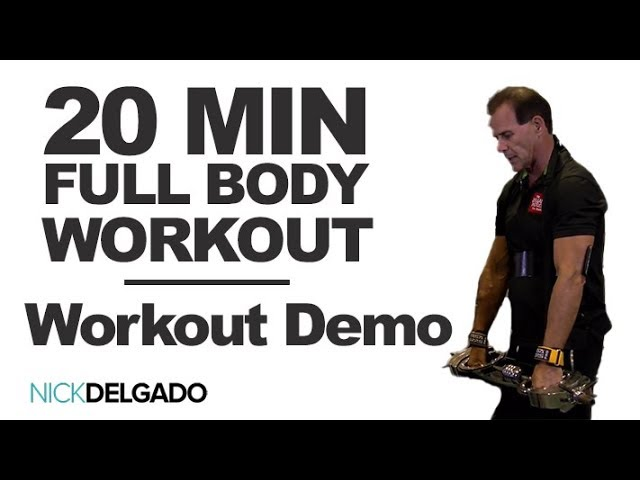 Extremely intense 20 Minute upper BODY Workout (Back, Legs, butt, chest, delts) -build size & power