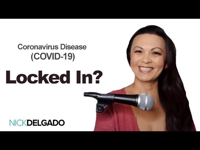 CoronaVirus? When you are locked in What will you need? Dr. Nick Delgado – LIVE