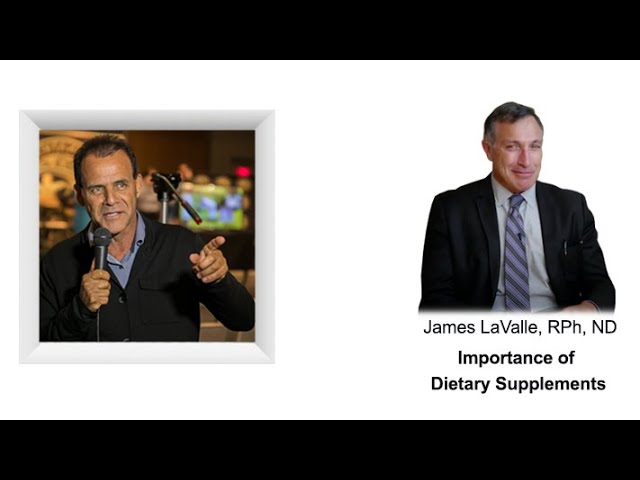 Dietary Supplements, microbiome, viruses, amino acids metabolic code, fasting James LaValle, RPh, ND