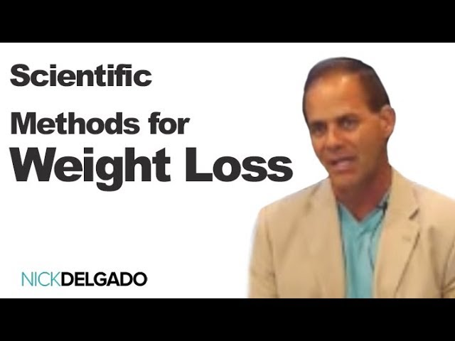 Scientific Methods for Weight Loss with Dr Nick Delgado. The Ultimate way to permanent fat loss Nick
