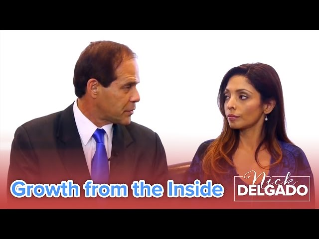 Growth from the Inside – Dr. Nick Delgado with Zeerak Khan – Simply HealthyTV