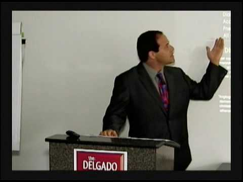 Dr. Nick Delgado talks Nutrition in Newport Feb 2010 part 1