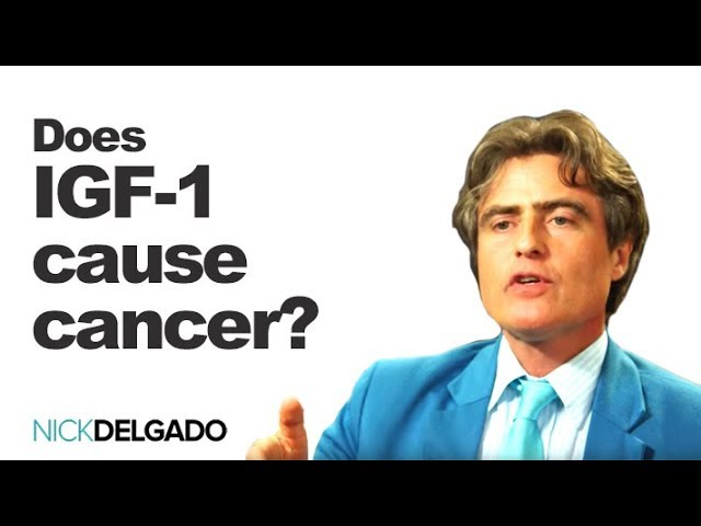 Does IGF-1 cause cancer? NO Is HGH safe? Yes. Low IGF-1 linked to uterine cancer
