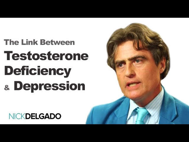 The Link Between Testosterone Deficiency, Cellulite and Depression. Thierry Hertoghe and Dr. Delgado